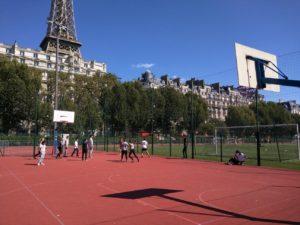 4ès basket tour Eiffel
